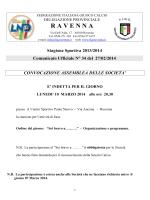 C U N 34... - FIGC Ravenna
