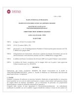 D.R. n. 2322 Facoltà di Medicina ed Odontoiatria