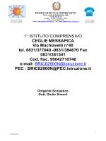 Pof 2013/2014 - Primo Istituto Comprensivo Ceglie Messapica