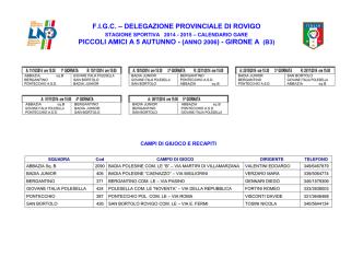 Calendario-P.Amici-Autunno-2014-15