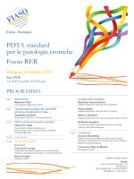 PDTA standard per le patologie croniche Focus RER