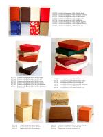scatole cartoncino colorate