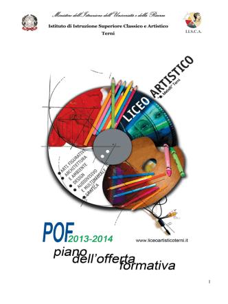 Apri il file del POF del Liceo Artistico