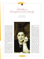 Alda Merini Il Vangelo secondo i Navigli