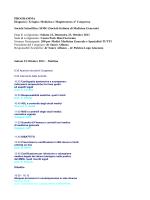 PROGRAMMA Diagnosi e Terapia: Medicina e