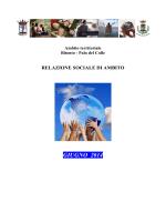 Relazione 2013 - Comune di Bitonto