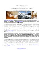 Apre Nira Montana: il primo hotel 5 stelle a La Thuile Nira Hotels