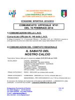 Comunicato 41 - FIGC Gorizia