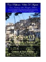 "2014 17mag ANTICOLI CORRADO - Coro Polifonico ""Salvo D"