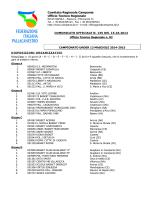 Comitato Regionale Campania Ufficio Tecnico Regionale