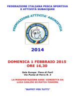 elenco premiati anno agonistico 2014
