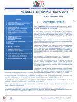 newsletter appalti expo 2015 - Associazione Industriale Bresciana