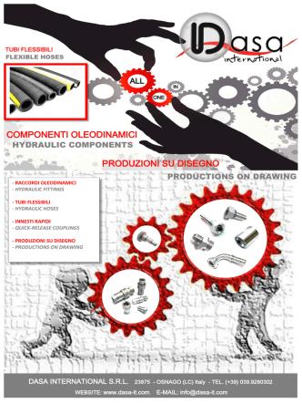 componenti oleodinamici produzioni su disegno