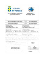 RE01 Impianti elettrici - Relazione tecnica