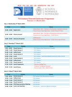 7th Graduate Network Conference Programme