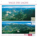 Cartina sentieri della Valle dei Laghi