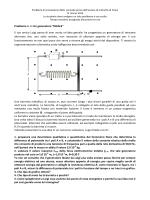 Fisica problema 1 e 2 integrale - Liceo B Croce