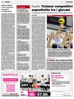 Il Corriere del Ticino, 12.03.2015