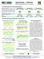 Agrometeo… Informa