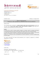 Misure di agevolazione Aziende con sede operativa e/o produttiva