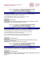 Corso di Laurea Magistrale in Scienze Filosofiche (D.M. - e