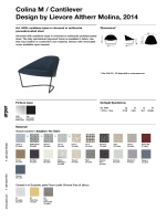Colina M / Cantilever Design by Lievore Altherr Molina, 2014