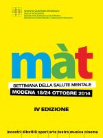 IV EDIZIONE - Mat Modena