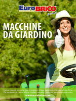 nuovo catalogo macchine da giardino