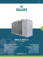 WBA-E WHA-E - Bicold Engineering