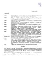 IL RETTORE, il DR n. 520 del 30 settembre 2014 relativo alla