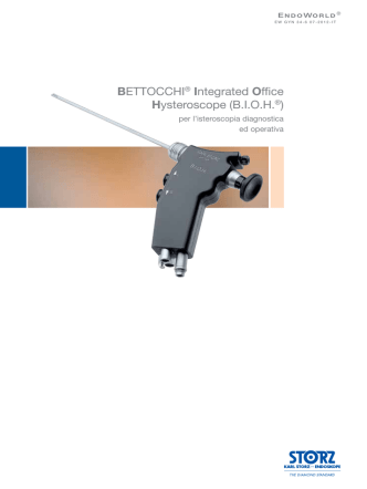 BETTOCCHI® Integrated Office Hysteroscope (B.I.O.H.®)