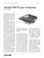 Shield Wi-Fi per Arduino