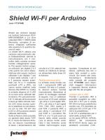 Shield Wi-Fi per Arduino