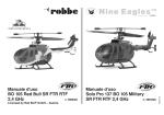 BO 105 Red Bull SR FTR RTF 2,4 GHz Solo Pro 137 BO 105 Military