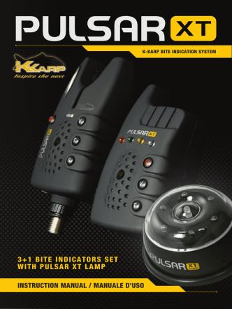 3+1 BITE INDICATORS SET WITH PULSAR XT LAMP - K-Karp