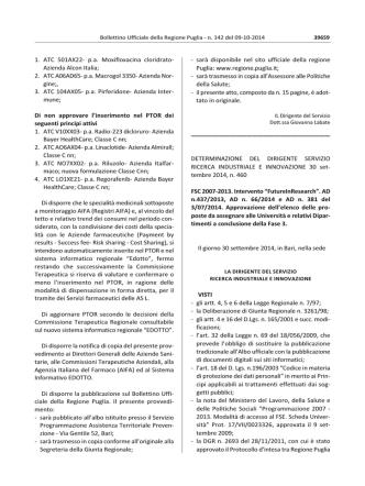 1. ATC 501AX22‐ p.a. Moxifloxacina cloridrato