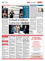 2014 – Un bracciale anti-violenza al Roma Movie