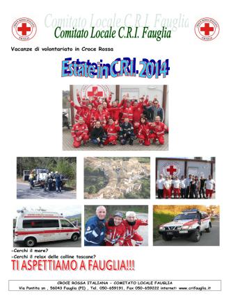 brochure completa - Comitato Locale CRI FAUGLIA