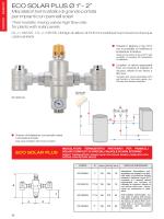 Minieco solar panel - Miscelatori termostatici per