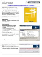 Istruzioni di installazione PDF