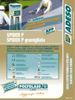 SPIDER P SPIDER P granigliata