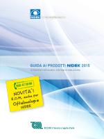 Catalogo Generale Nidek 2015 da qui