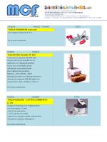 TAGLIAPANE Modello TP 180 TAGLIAVERDURE – CUTTER