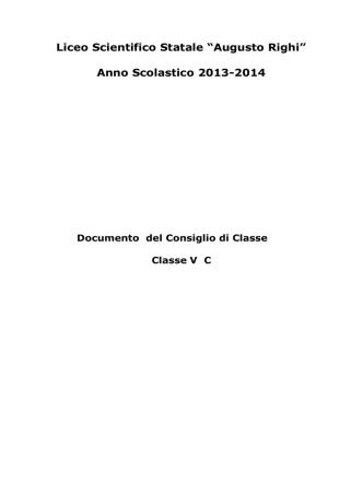 5C - Liceo Scientifico Statale A. Righi