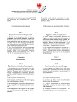 Vorgelegt von der Landesregierung am 21.1.2015 auf Vorschlag der