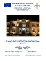 pubblicato il pof as.2014-2015