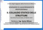 IL COLLAUDO STATICO DELLE STRUTTURE