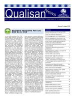 Qualisan News Giugno 2014