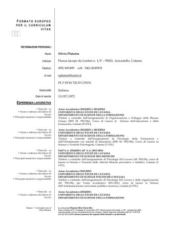 Curriculum vitae agg.maggio 2014