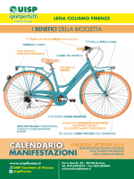 Calendario Manifestazioni 2014 della Lega Ciclismo Firenze